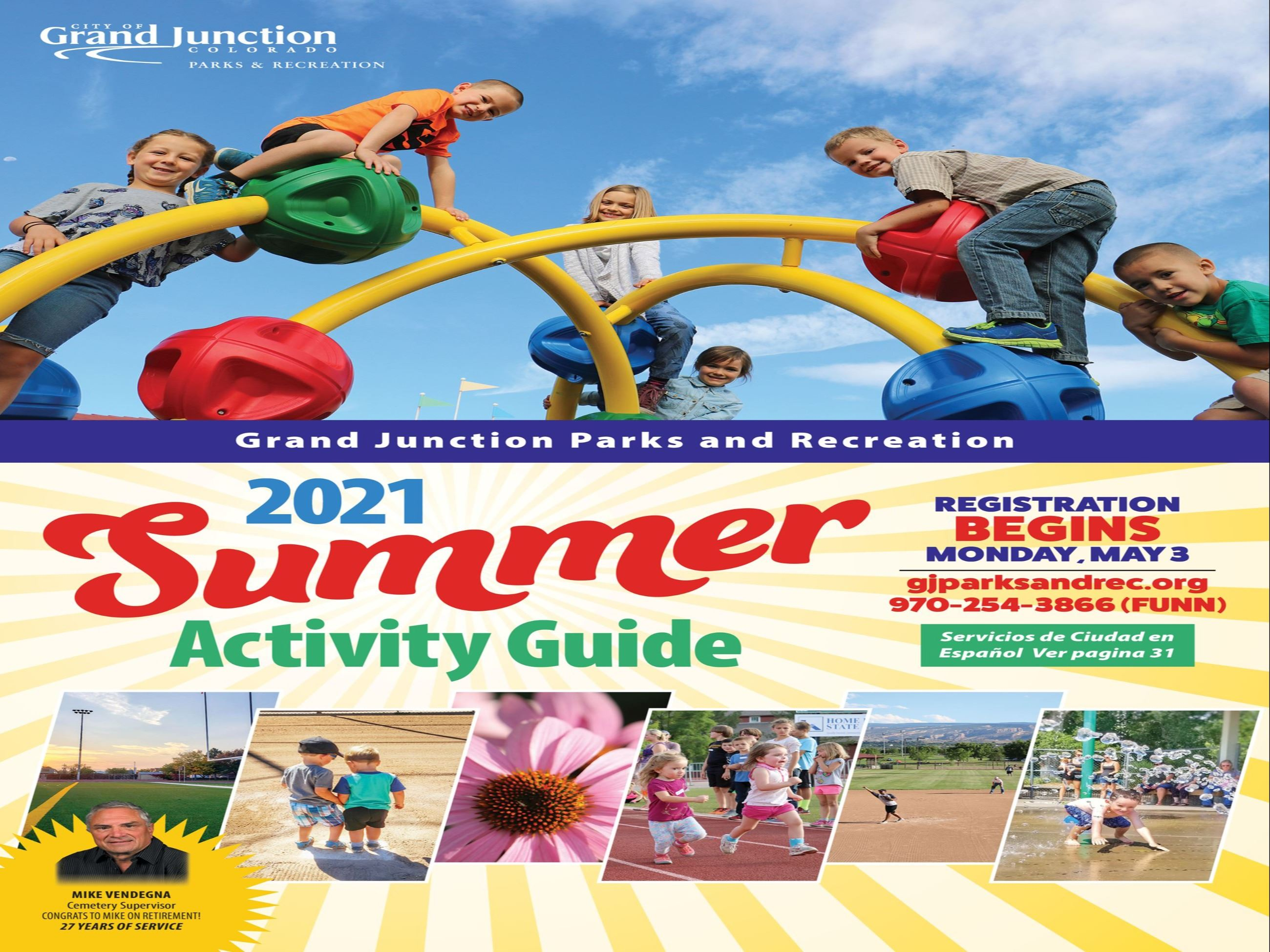 Activity Guide 2021 Summer Font Cover
